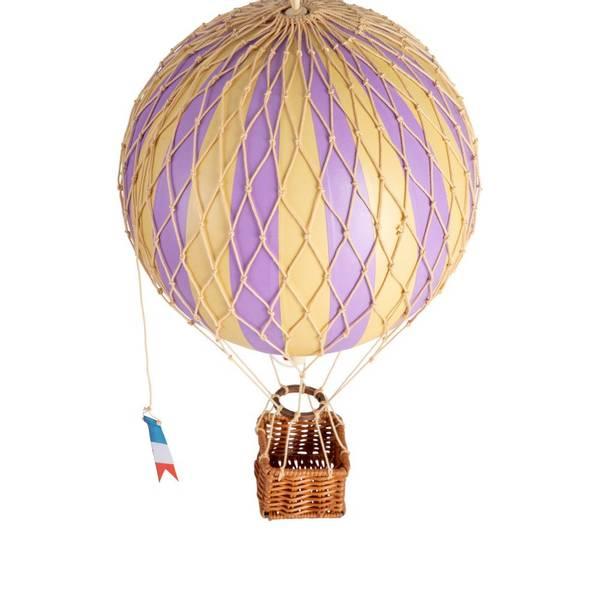 Luftballong medium Travel Light lavendel